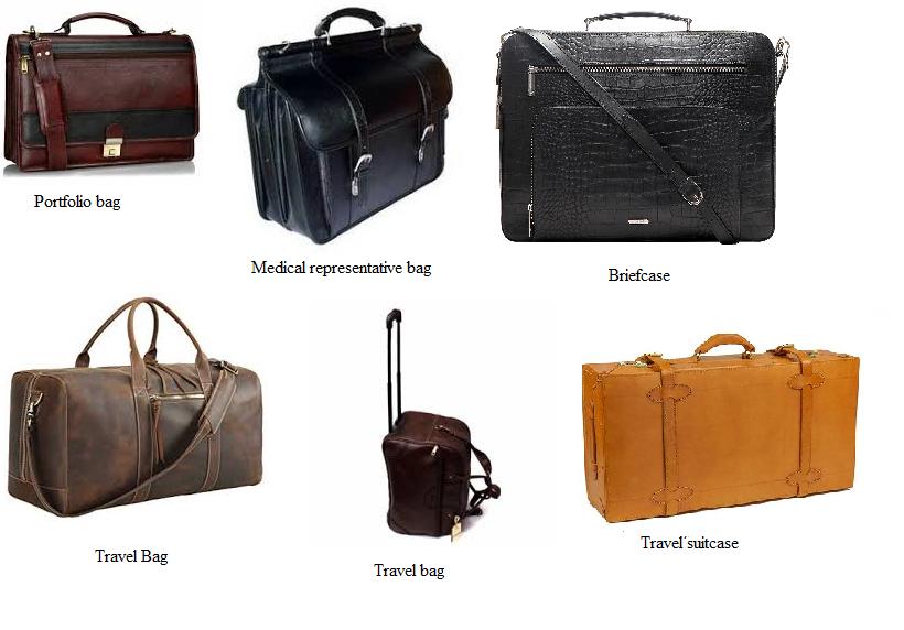 Heavy leather goods