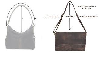 Drop length of bag